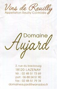 Domaine Aujard Reuilly